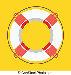 Vector Lifebuoy Icon
