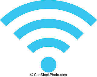 Vector Wireless Network Icon