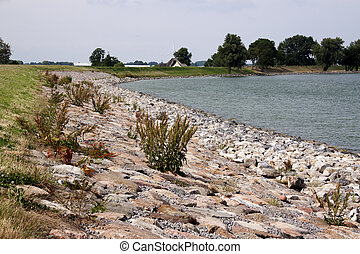 Dyke of Westfriesland - the dike is continuously maintained