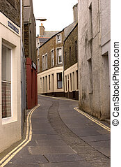 Main Street, Stromness - Mainstreet, Stromness, the Orkneys...