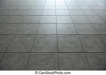 平鋪, 地板