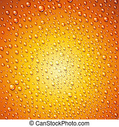 Water drops on surface as background Vector illustration