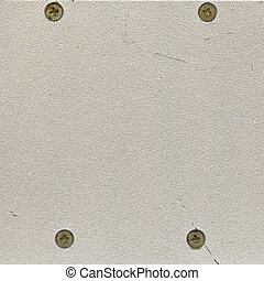 steel of metal plate with rivets
