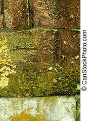Wand, mauerstein, altes, hintergrund, Beschaffenheit