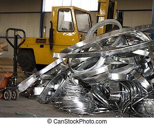 sheet metal scrap