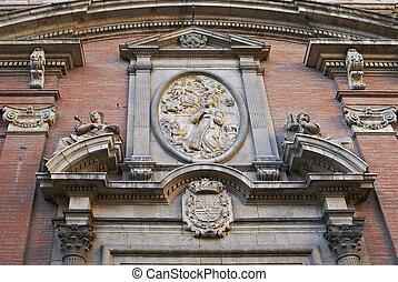 predios, famosos, histórico, Espanha, VALENÇA