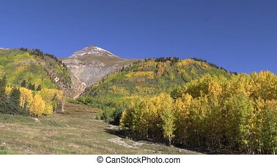Colorado Rockies in Fall