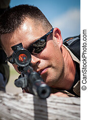 Sniper - A special ops military officer gets his target in...
