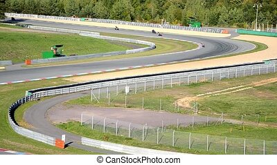 chicanes on racetrack