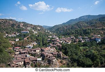 Kakopetria village Cyprus