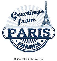 Powitania, Paryż, tłoczyć