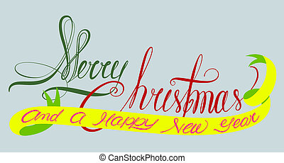 Merry christmas and a happy new yea