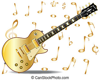 Gold Top - The definitive rock and roll guitar with a gold...