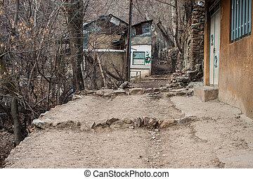 Way to Alborz mountains, Iran