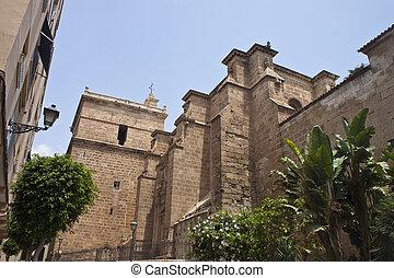 Church in Almeria, Spain
