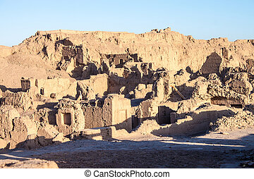 Ancient town of Bam, damaged by 2003 earthquake (March 2013)...