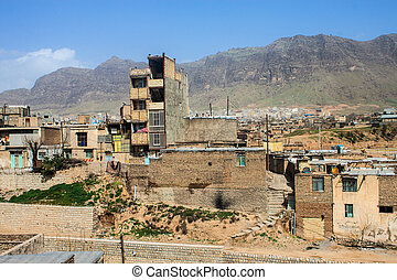 Houses in Khorramabad, Iran