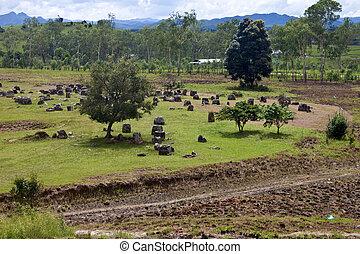 Plain of Jars, Phonsavan, Laos.