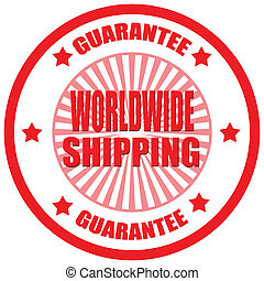 Worldwide Shipping-label