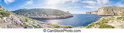 Xlendi Bay in Gozo Island, Malta - Xlendi Bay in Malta...