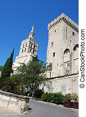 Popes Palace in Avignon