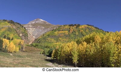 Fall in the Rockies - the beauty of the colorado rocky...
