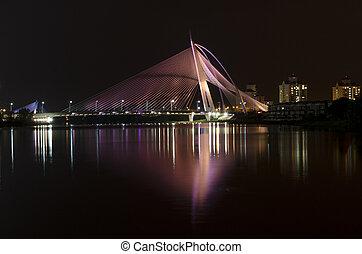 Putrajaya Bridge - This image is taken at Putrajaya on...