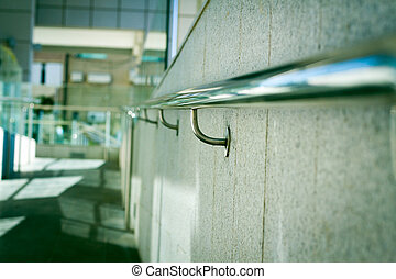 Beautiful stainless steel railings