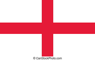 England flag - Vector England flag