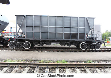 goods wagon - The image of a goods wagon
