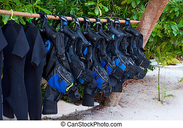 buoyancy, scuba diving equipment