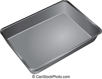 Cake Pan - A rectangular pan for cooking and baking in the...