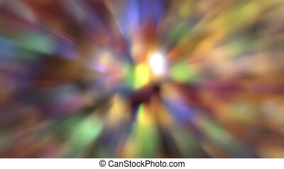 Abstract Colorful Moving Background - Abstract Colorful and...