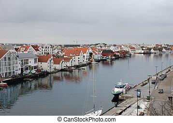 Norwegian town Haugesund