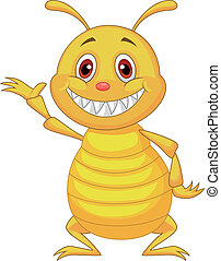Termite cartoon  - Vector illustration of Termite cartoon