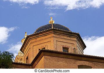 建物, 有名, 歴史的, スペイン, バレンシア