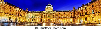 parís, -, abril, 16, Louvre, museo, abril, 16, 2012,...