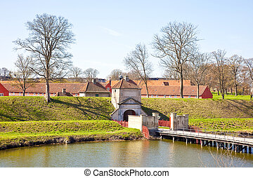 Fortress of Kastellet - Ancient defensive building the...