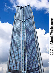 Tower Montparnasse in the centre of Paris. France. - Tower...