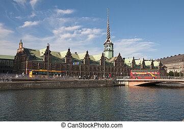 Copenhagen,the Old Stock Exchange