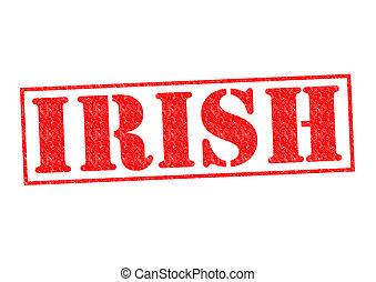 IRISH Rubber Stamp