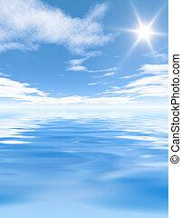 sun reflection - An illustration of a sun reflection...