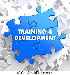 Training and Development Educational Concept - Training and...