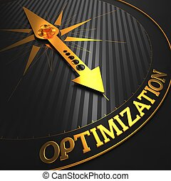 Optimization Business Concept - Optimization - Business...