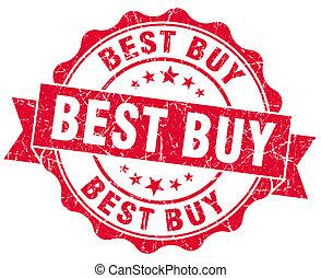 best buy red grunge stamp