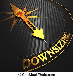 Downsizing. Business Concept. - Downsizing - Business...