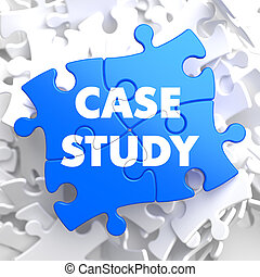 Case Study on Blue Puzzle Pieces. - Case Study Written on...