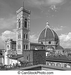 fantastic view of the Basilica di Santa Maria del Fiore (...