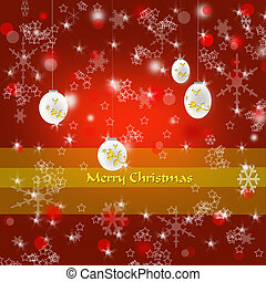 Merry Christmas decorative background