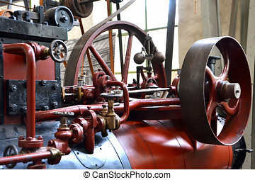 Detail of a steam engine